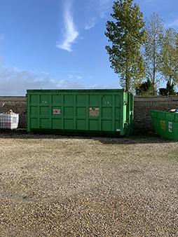 Stockage déchets - Benne